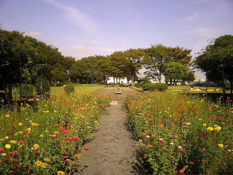 野毛山配水地公園
